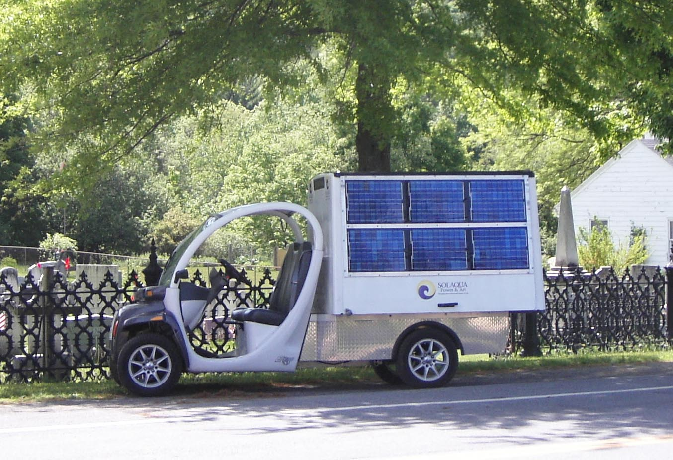 Solar Gem Car Solaqua Power Project W Panels