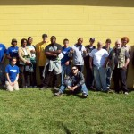 Green Corp participants with Jody.